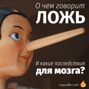 О чем говорит ложь и какие последствия для мозга?